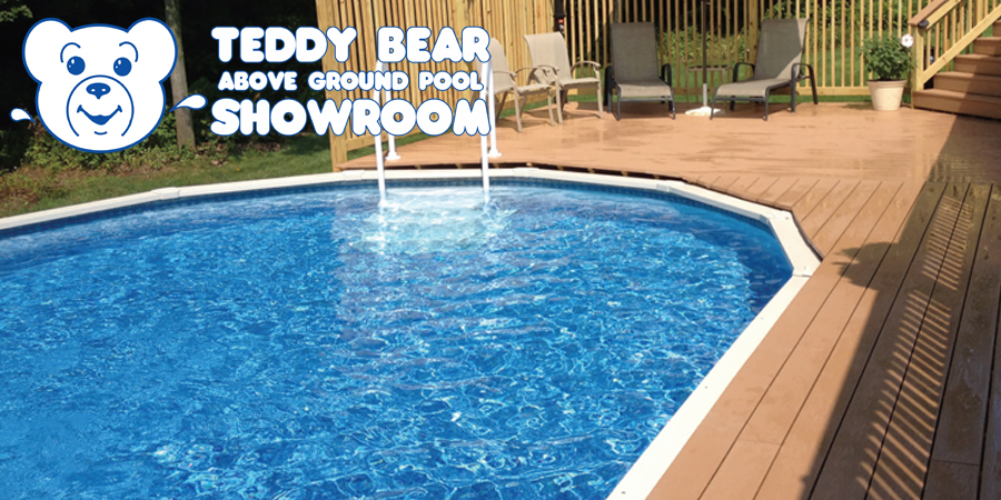 Above ground pool showroom teddy bear pools and spas for Pool showrooms