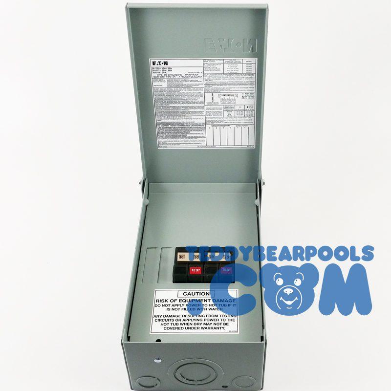 Hot Spring 301755 Complete Gfci Sub Panel 50amp W 2 Gfci