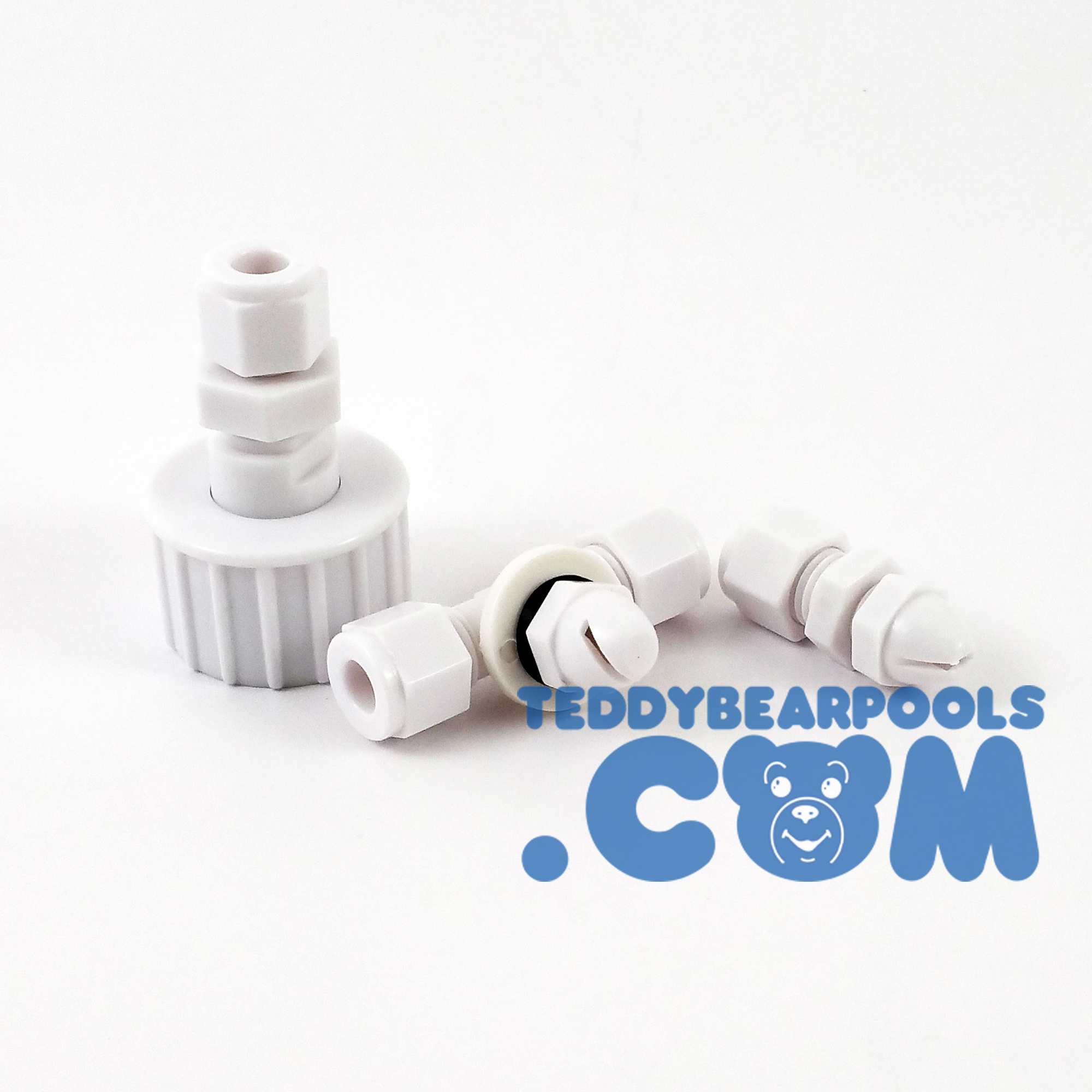 Pool slide spray kit nozzles teddy bear pools and spas for Swimming pool slide replacement parts