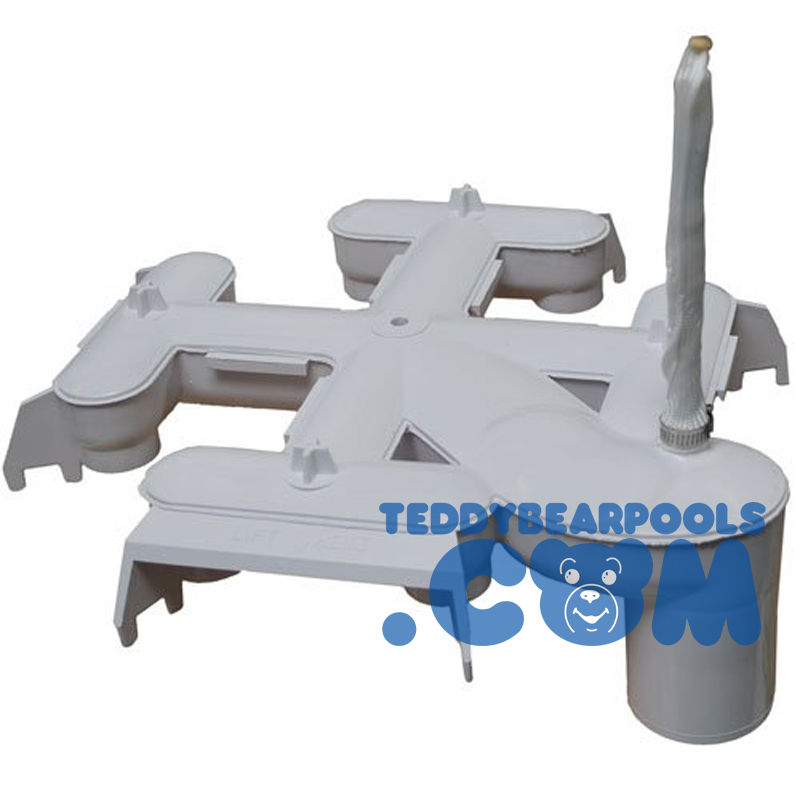 Hayward Dex2400c De Filter Top Collector Manifold With Flex Air Relief Teddy Bear Pools And Spas