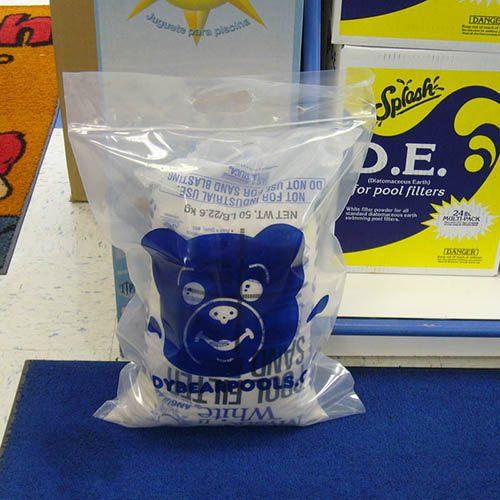 Plastic Bag For Sand Bags Teddy Bear Pools And Spas