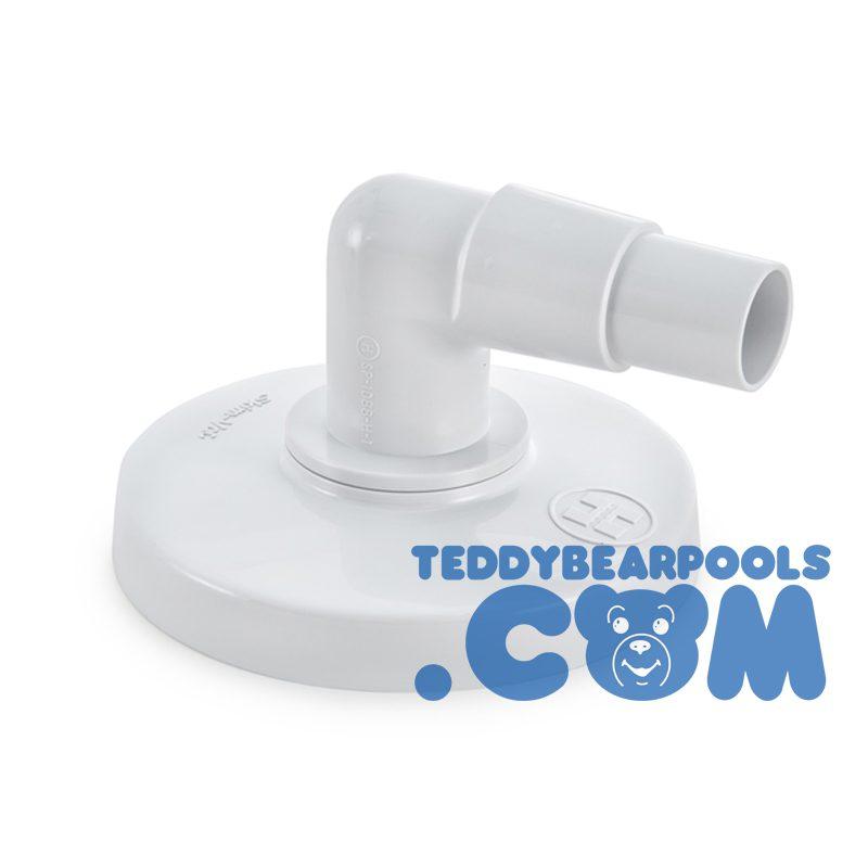 Hayward Sp11041 Skim Vac Plate Elbow For Hayward Above Ground Skimmer Teddy Bear Pools And Spas