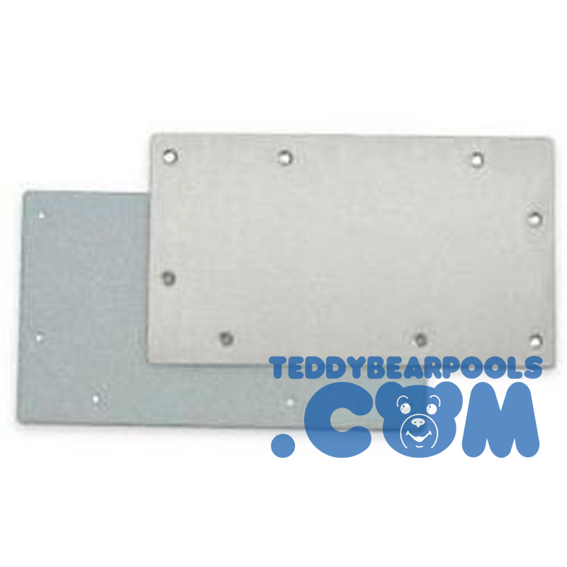 Stainless Steel Widemouth Skimmer Winter Face Plate