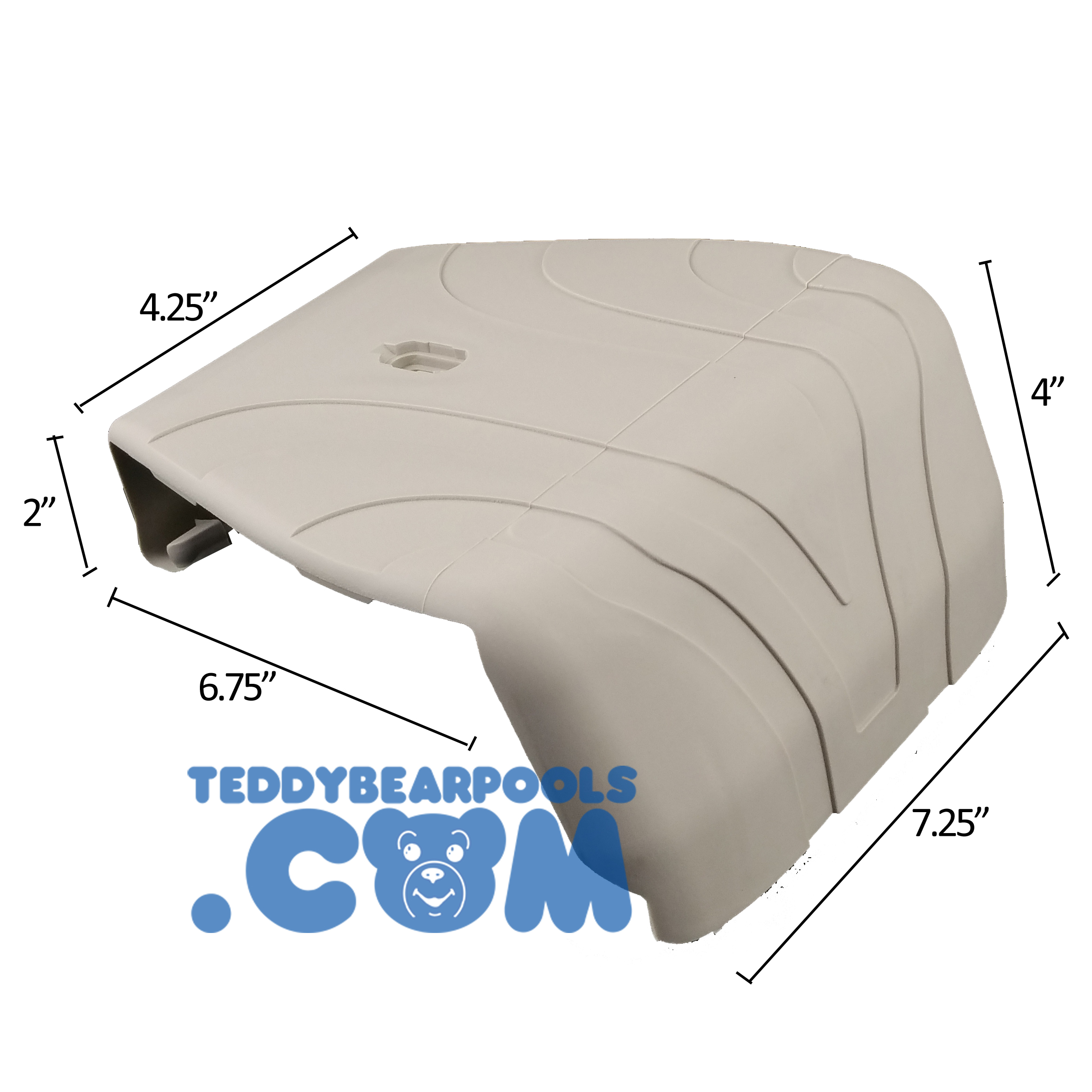 T3530 57 8 Quot Johnny Weissmuller Coping Cover Beige