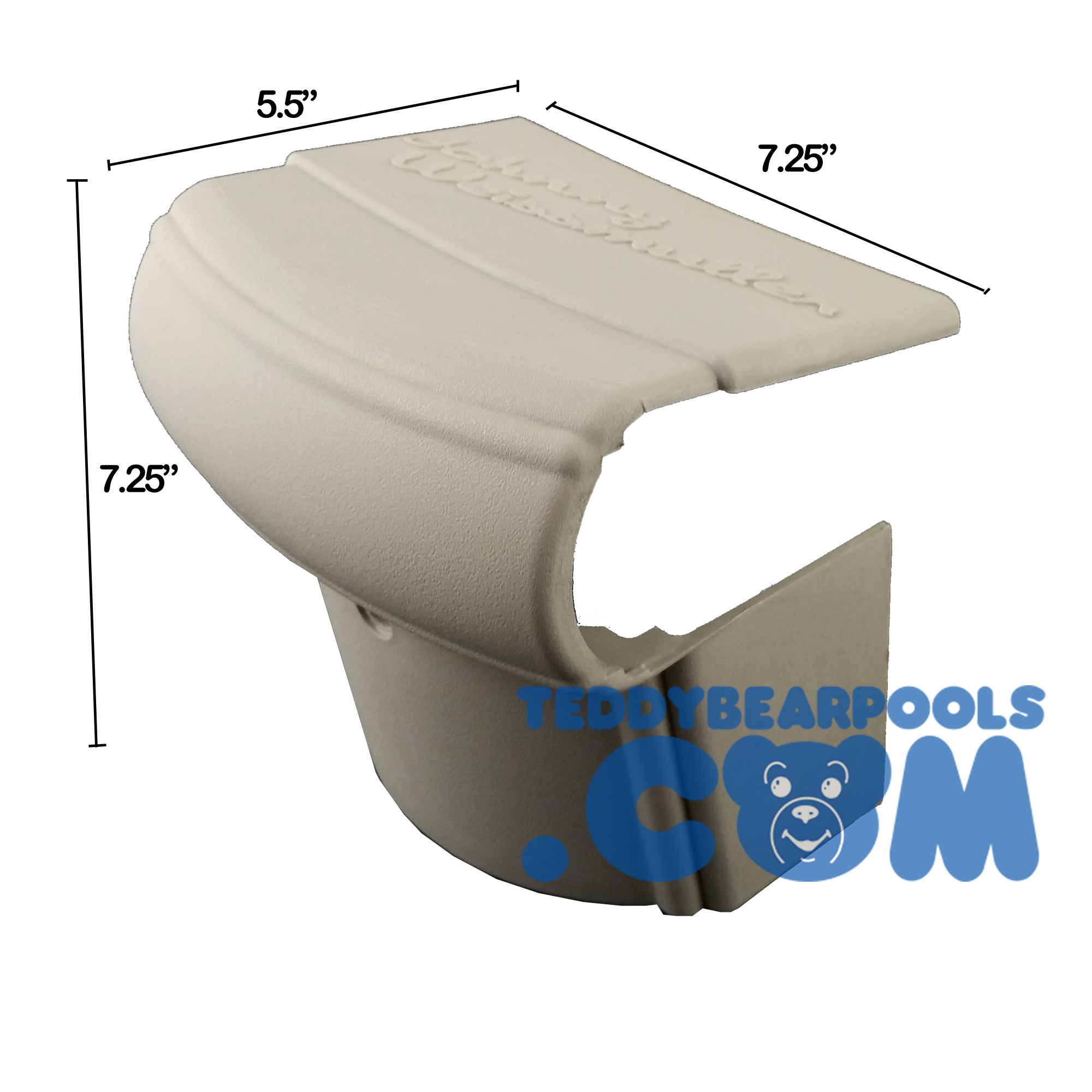 Rear Coping Cover For Johnny Weissmuller Sahara Pool