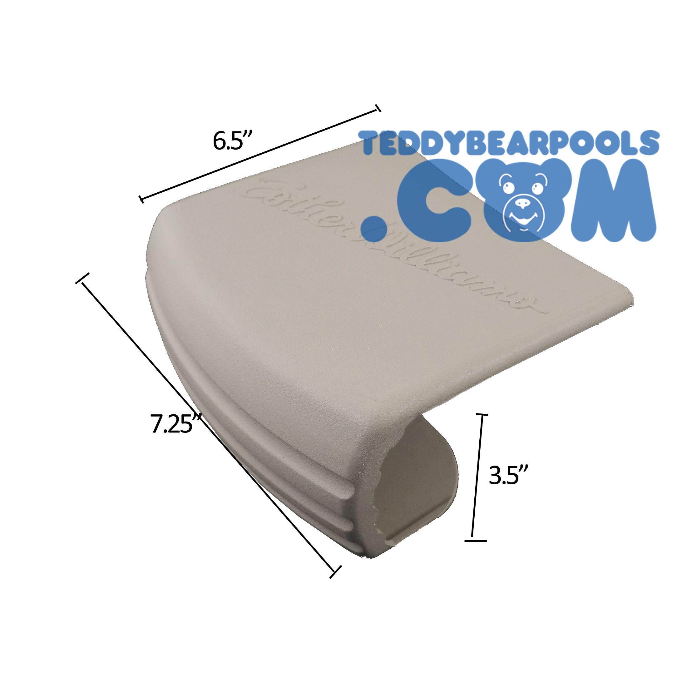 Rear Coping Cover For Esther Williams Millennium Pool