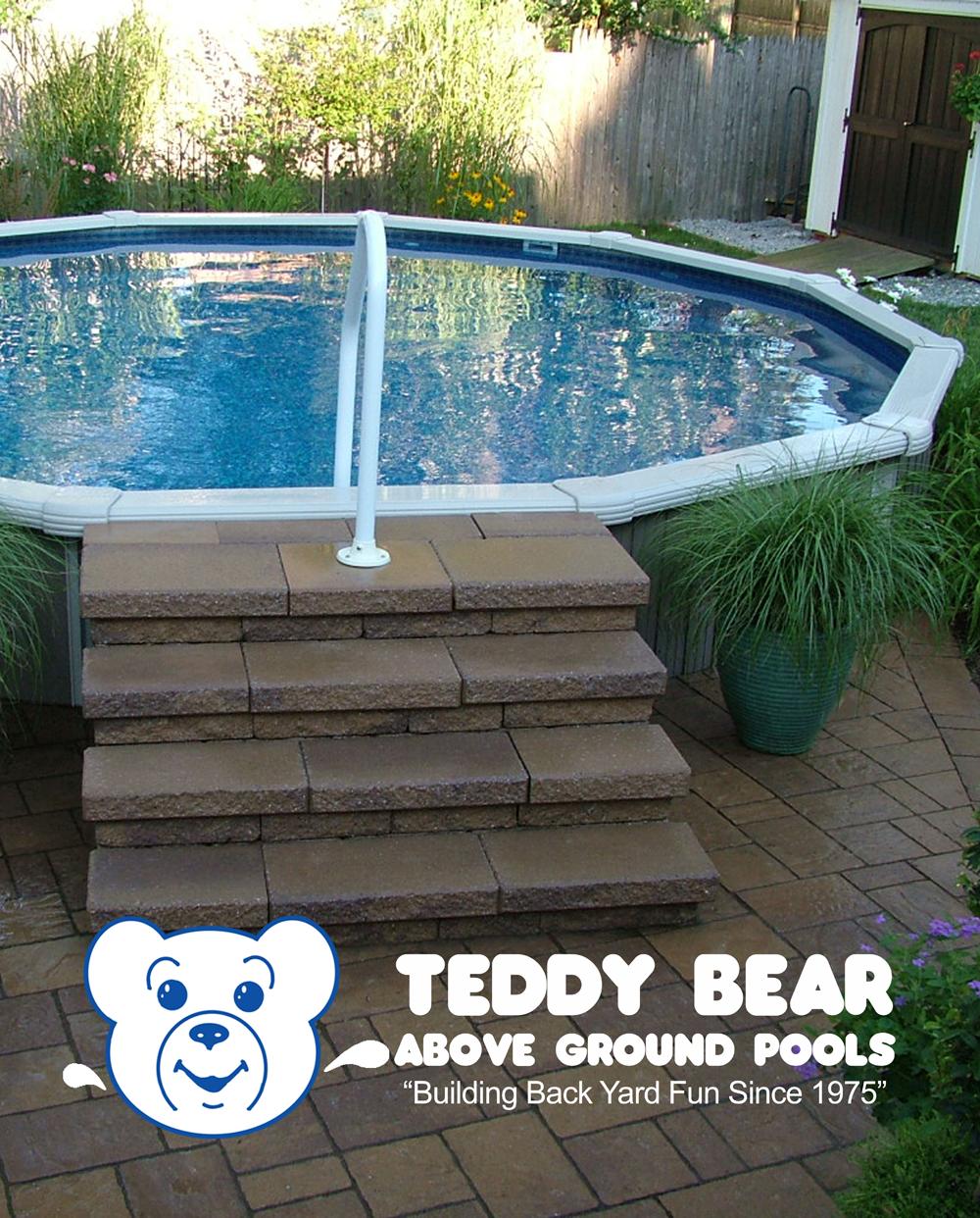 Semi In-ground pool