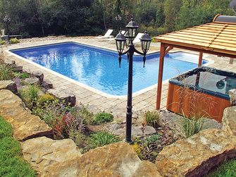 In ground pool showroom teddy bear pools and spasteddy for Pool showrooms