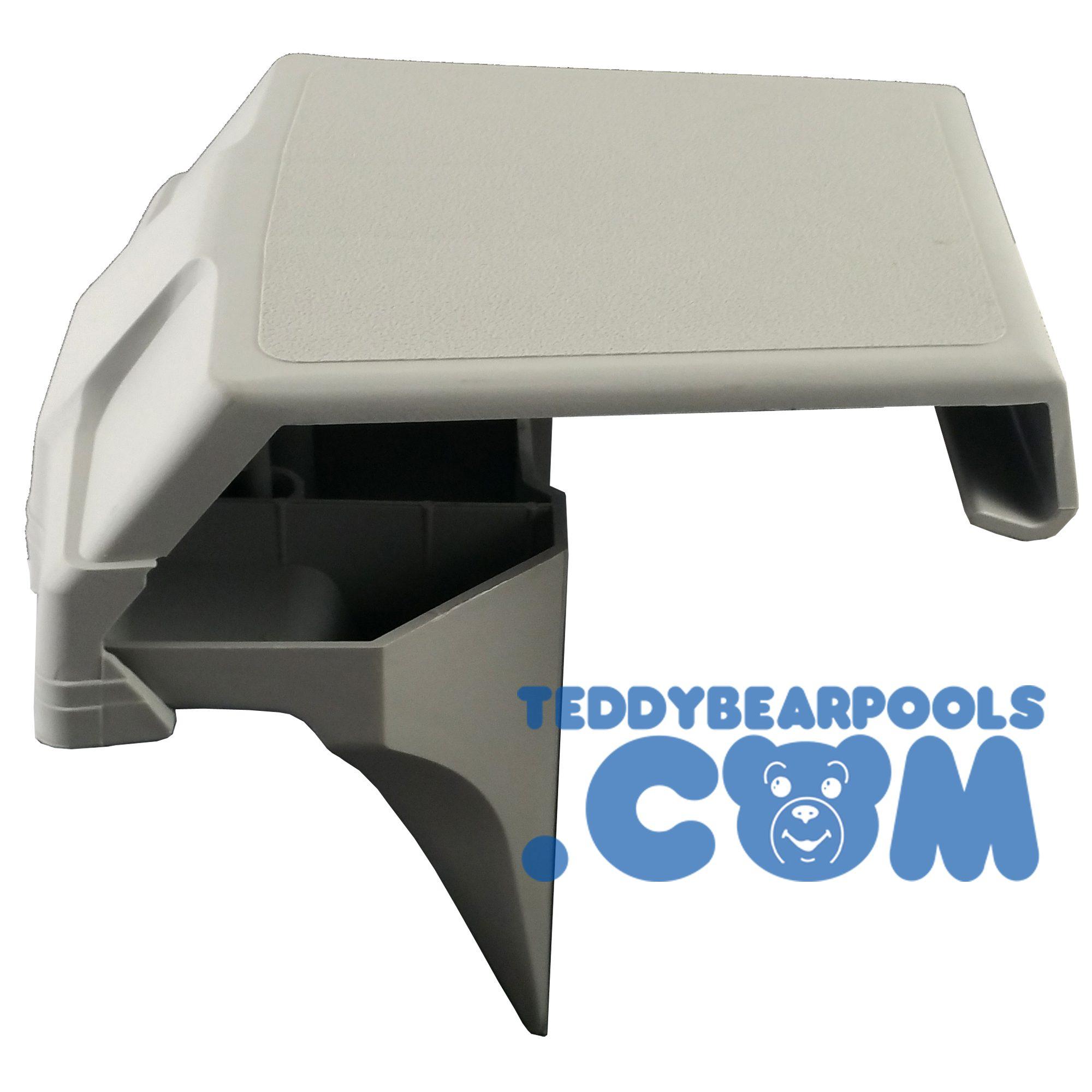 Top Cap For Fusion Artesian Pools Top Bottom Gray Teddy