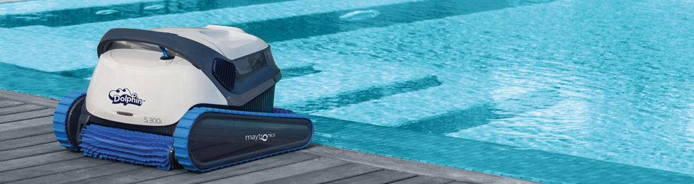 Dolphin s series by maytronics teddy bear pools and spas - Dolphin s300 prix ...