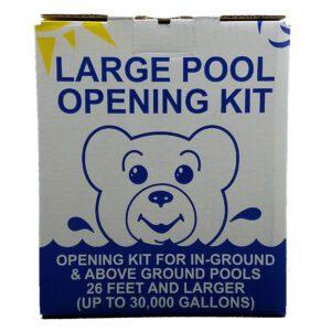 Large pool opening kit