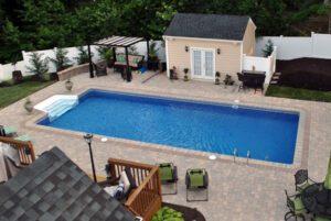 Small Rec Patio Pool