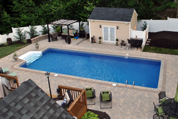 Spring Series In Ground Pools Teddy Bear Pools And Spas