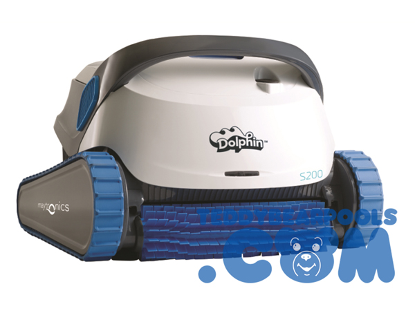 Dolphin s series by maytronics teddy bear pools and spas - Robot dolphin s300 ...