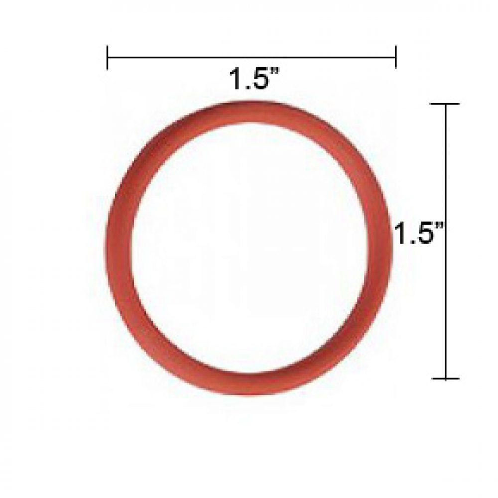 O-ring with measurement