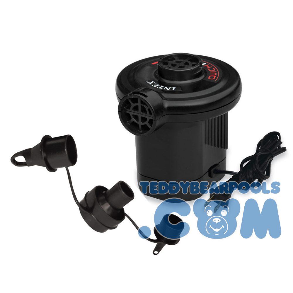 Quick fill ac electric air pump 110 120 volt intex for Quick up pool 120 hoch