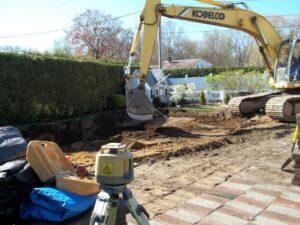 In Ground Pool Dig