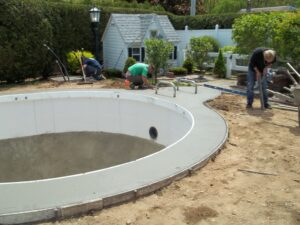 Stampcrete In Ground Pool