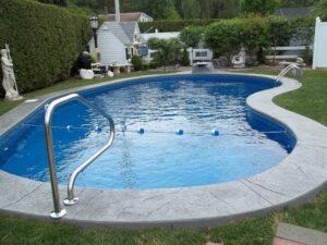 Kidney In Ground Pool Teddy Bear Pools