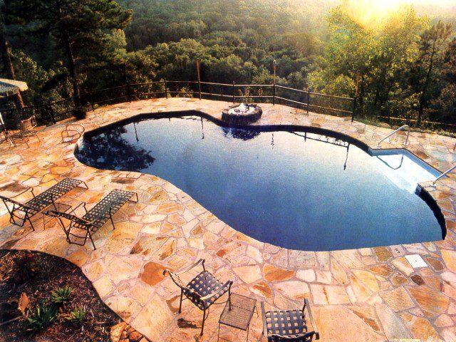Lake Series In Ground Pools Teddy Bear Pools And Spas