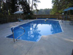 Greician shape pool