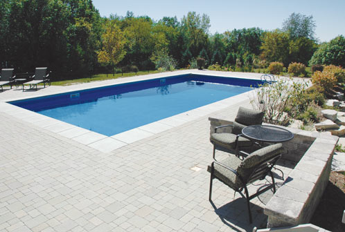Large Rectangle pool
