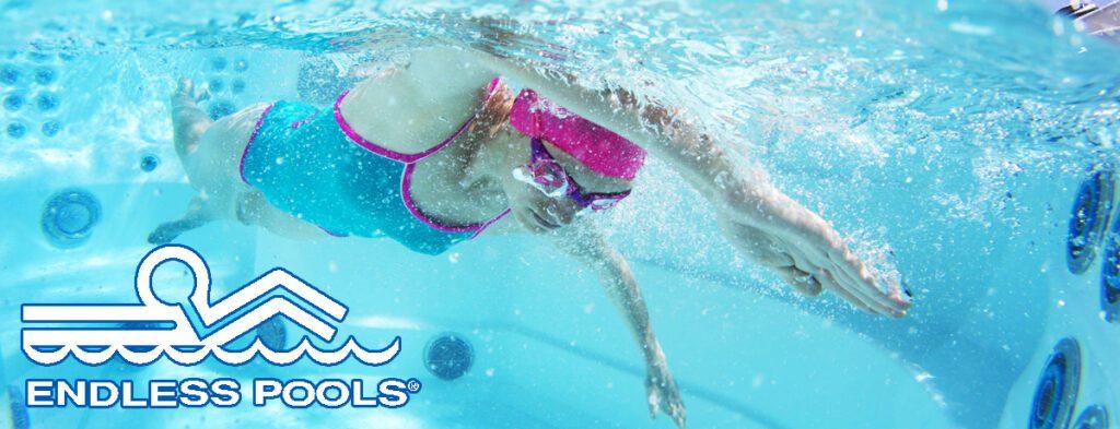 Endless pool swim spas teddy bear pools and spas - How much is an endless pool swim spa ...