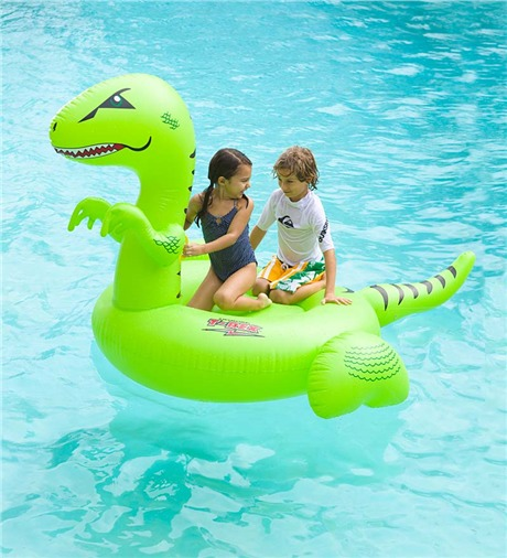 Swimline T Rex Giant Ride On Teddy Bear Pools And Spas