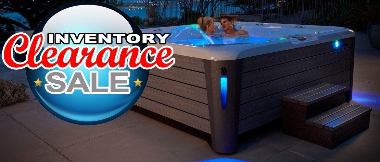Hot tub clearance sale