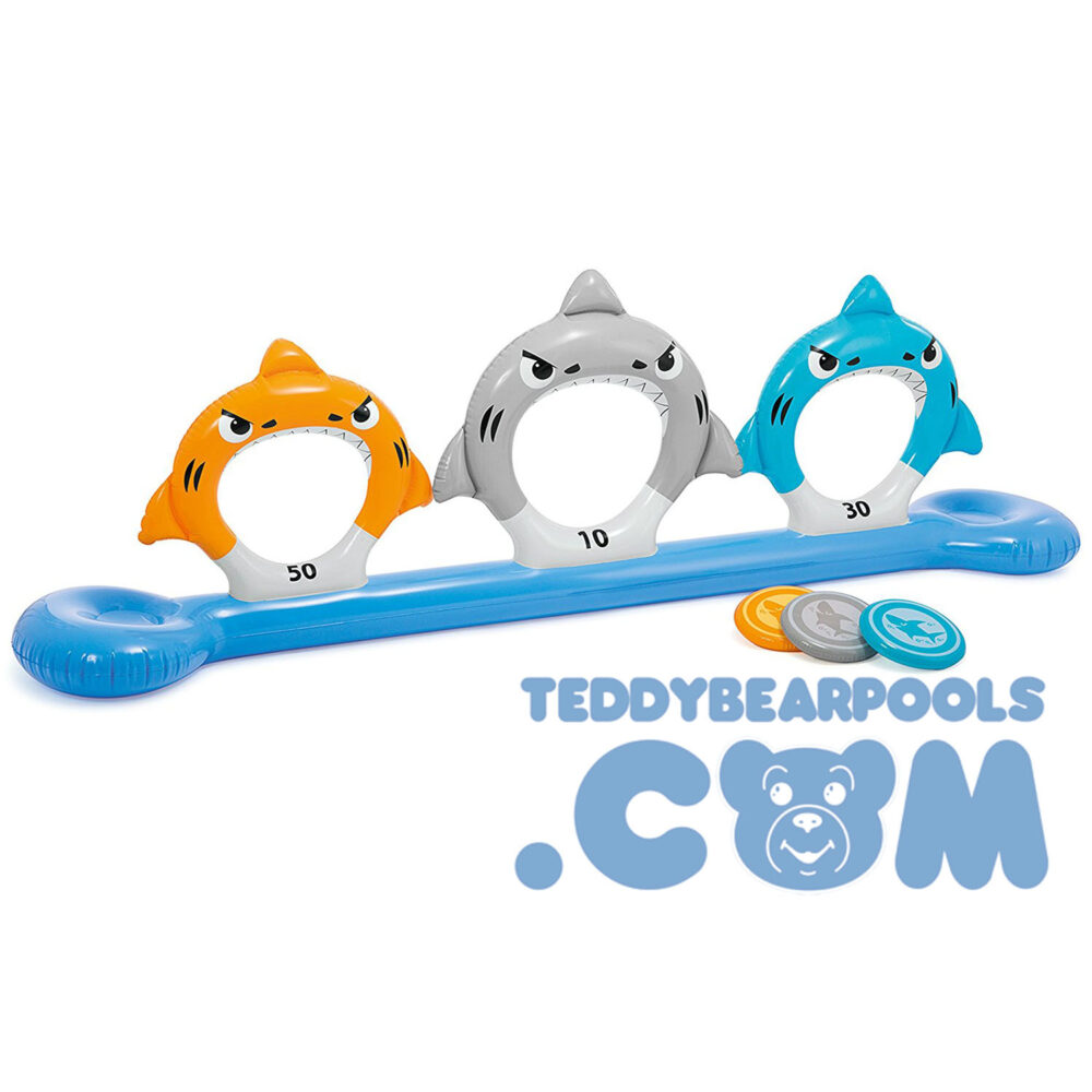 Feed the Sharks pool toy