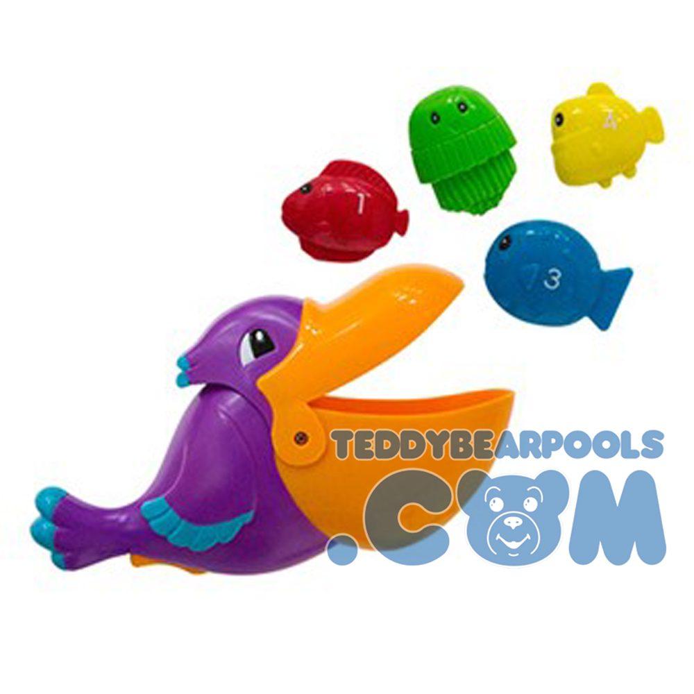 Pick Me up Pelican pool toy
