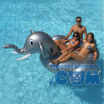 Pool Giant Elephant Ride On