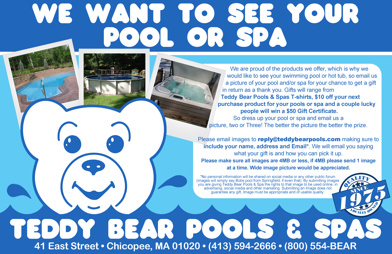 We want to see you pool and spa