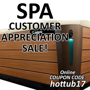 Spa Customer Appreciation Sale