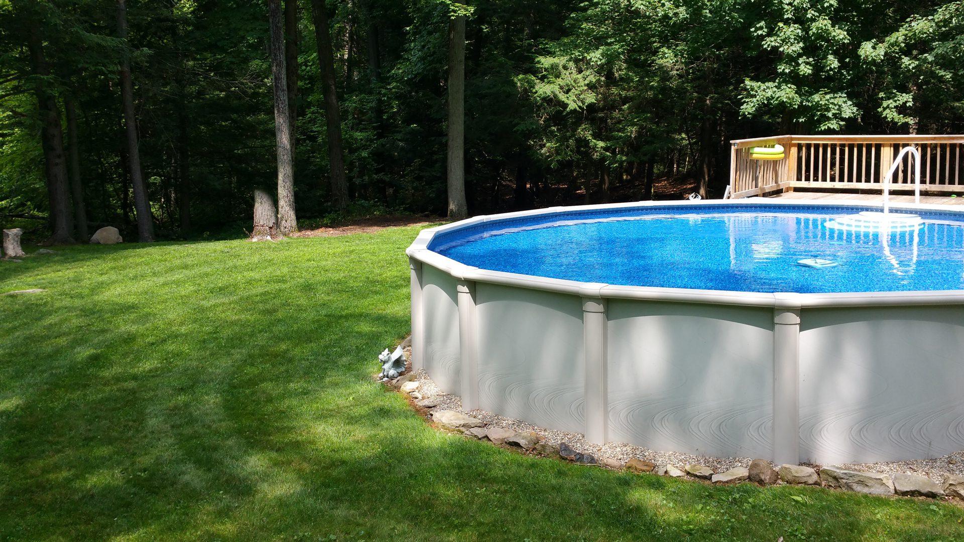 Teddy Bear Premium Above Ground Pool