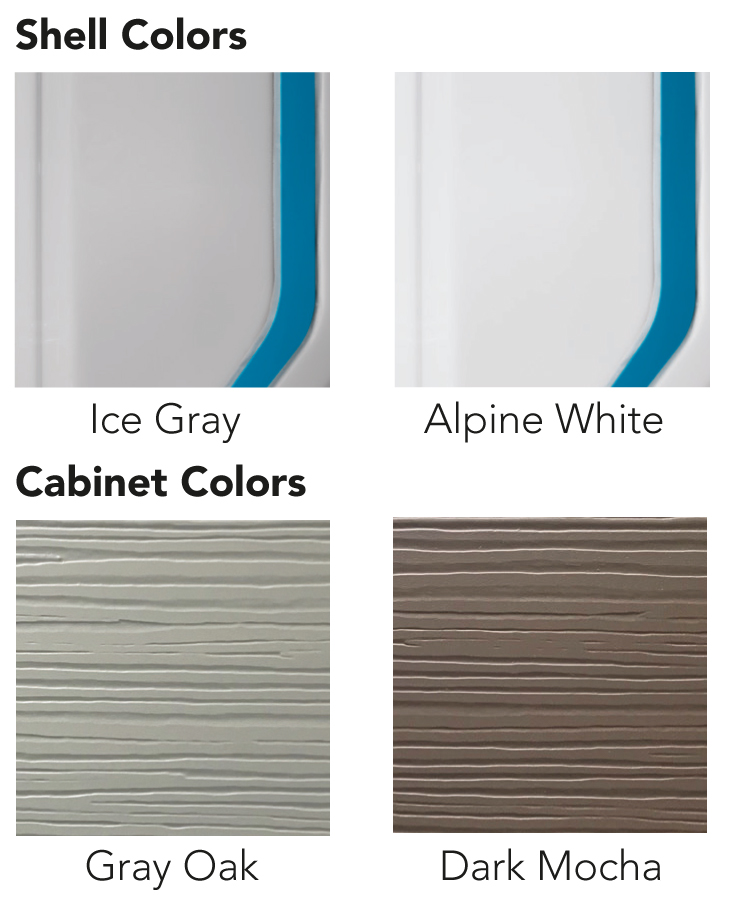 Recsport Color options