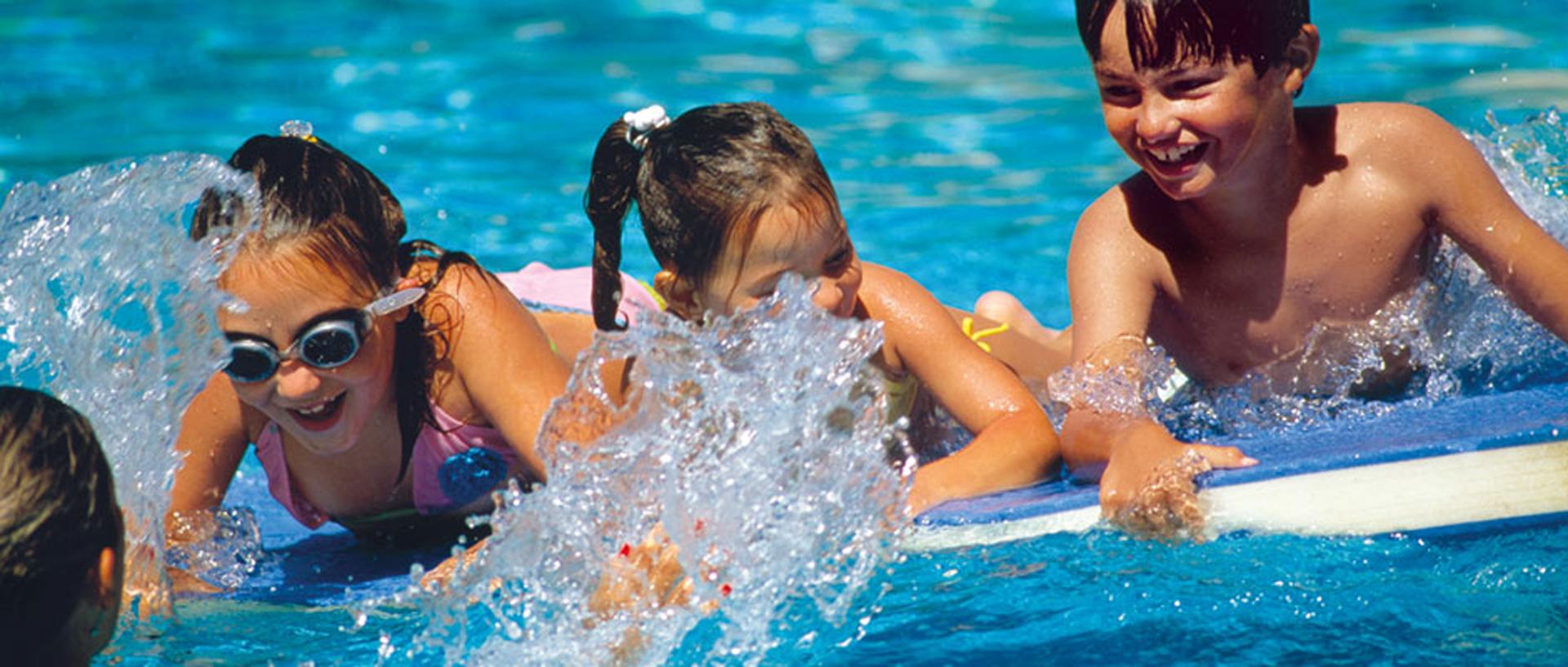 pool splash 2020