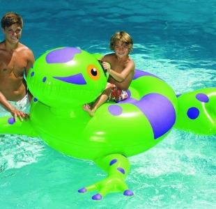 Swimline Giant Rideable Frog Float Toy 74u2033 90623