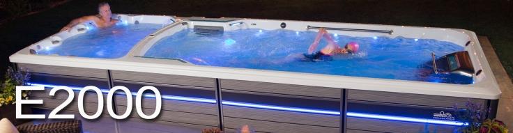 Endless Pool Swim Spa E2000 - Teddy Bear Pools and Spas