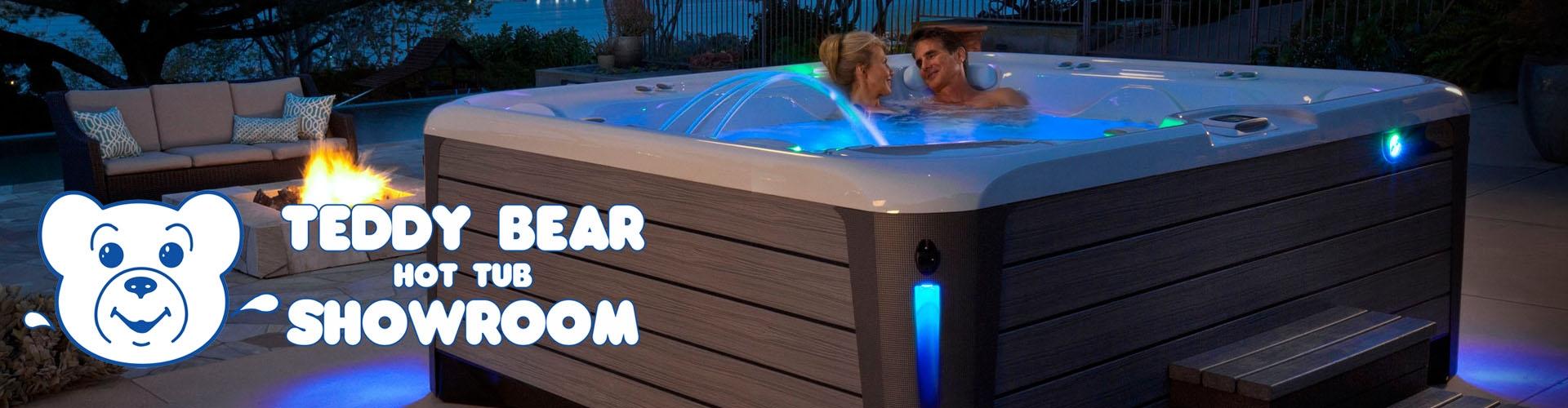 Hot Tub Showroom - Teddy Bear Pools and Spas