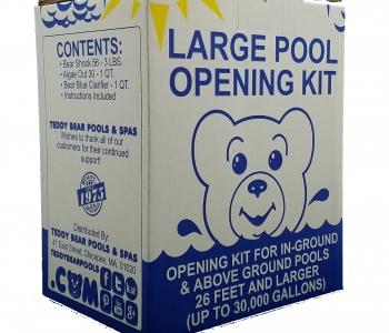 Opening Kit Up To 30,000 Gallons Opening Kit Up To 30,000 Gallons
